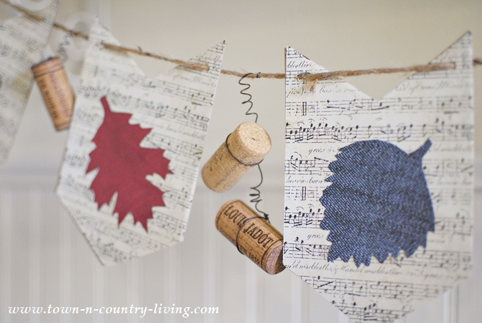 How to make a Leaf and Cork Banner