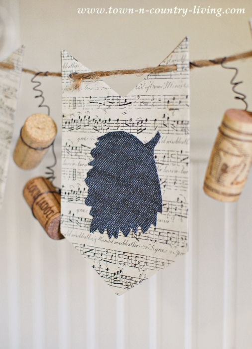 Fun and Simple Leaf and Cork Banner