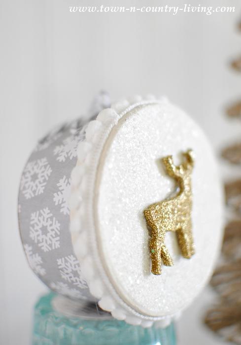 DIY Mini Christmas Box Ornaments