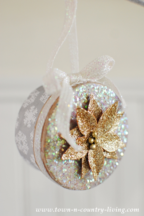Mini Christmas Box Ornaments