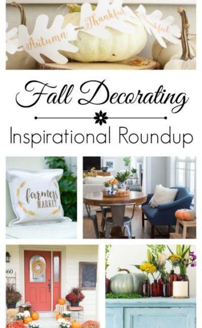 Fall Decorating Inspiration - Blogger Roundup