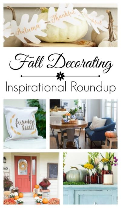 Fall Decorating Inspiration - Blogger Roundup