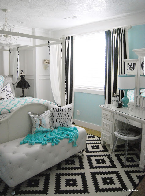 charming teen girl bedroom sets | Home by Heidi: Charming Home Tour - Town & Country Living