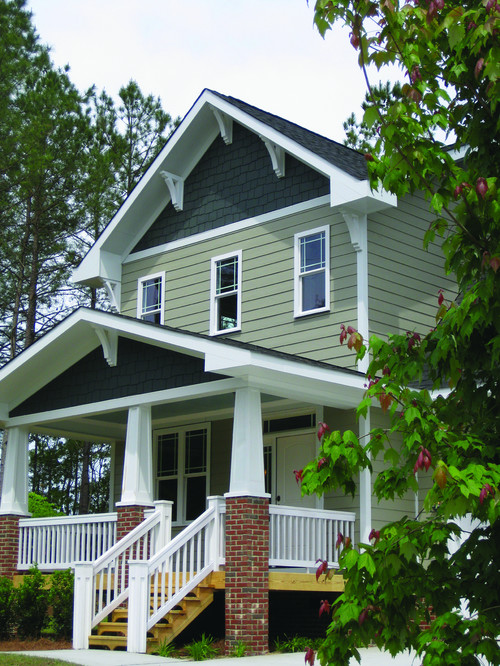 Craftsman Style Home Decorating Ideas: Home Exterior: What's Your Favorite Style?