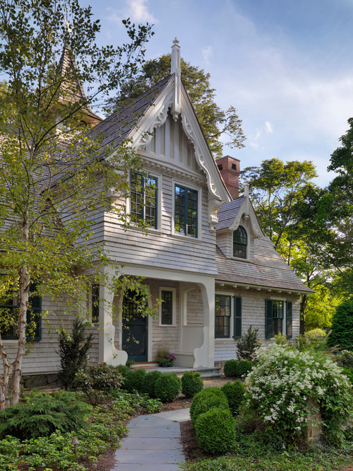 Victorian Home in Neutral Colors
