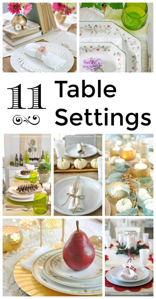 11 Table Settings to Inpsire