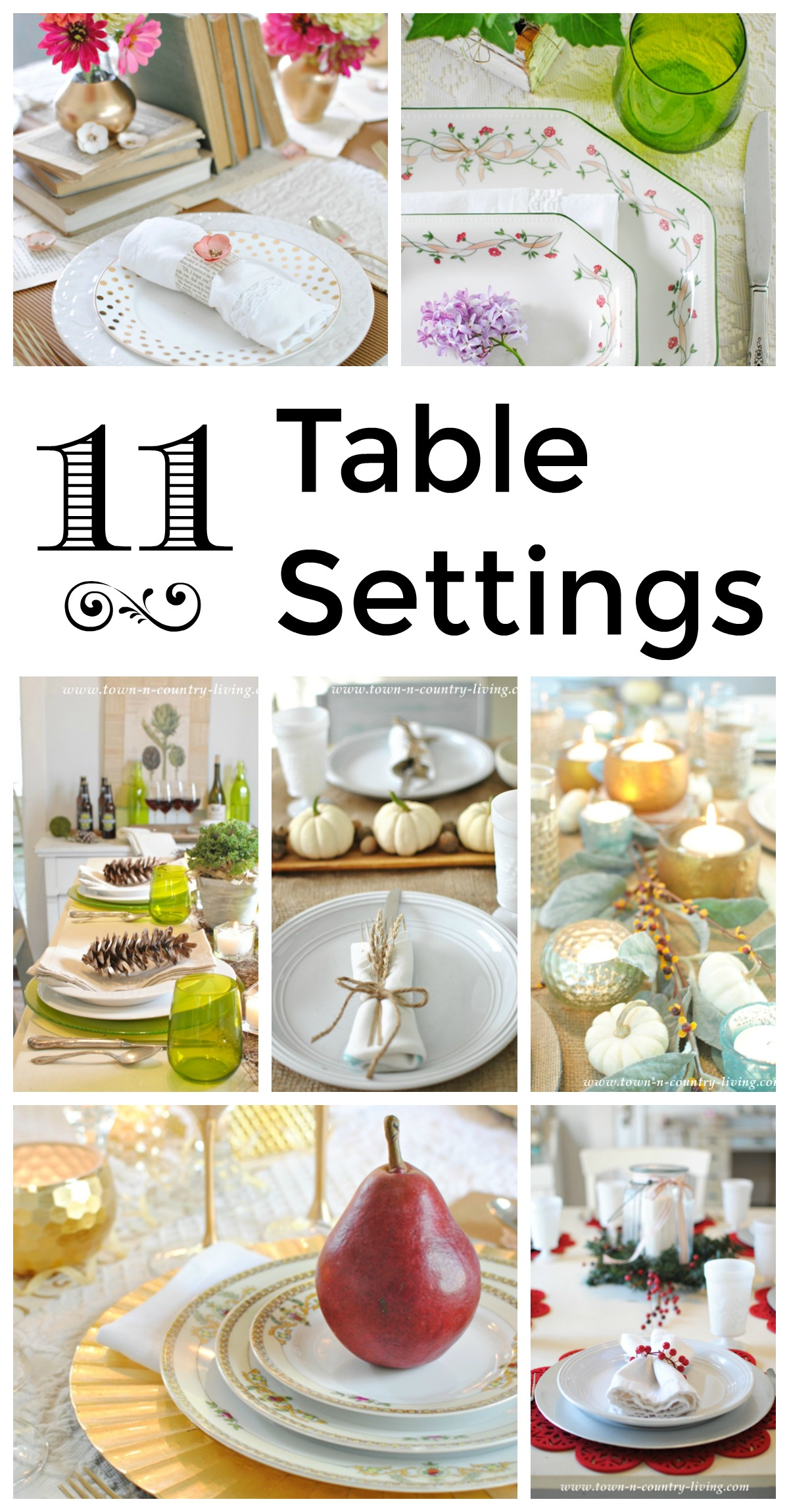 11 table settings for every occasion town country living - Html table options .  sc 1 st  Edfos.com & Matrix 42 Standing Height Rectangular Table L Size And - Html Table ...
