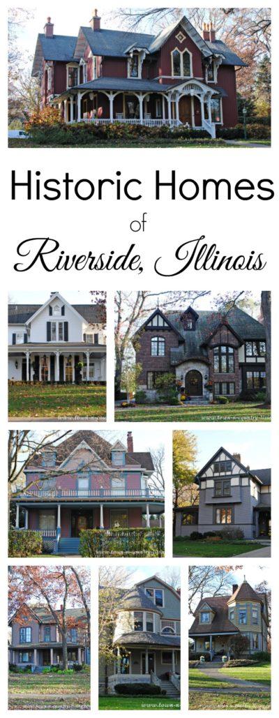 Enjoy a virtual walking tour of Riverside, Illinois
