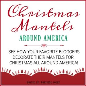 Christmas Mantels across America. See how bloggers in different areas decorate their holiday mantels.