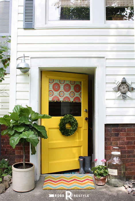 Happy Yellow Door