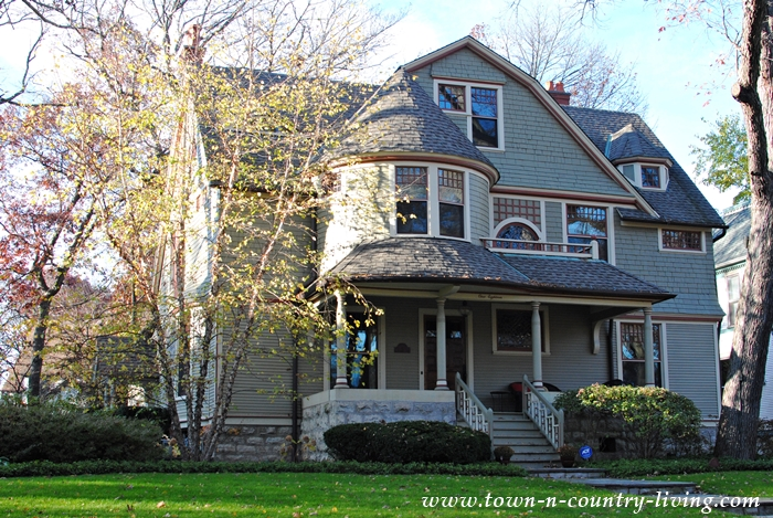 Collection of Victorian and Tudor Style Homes in Riverside, IL.