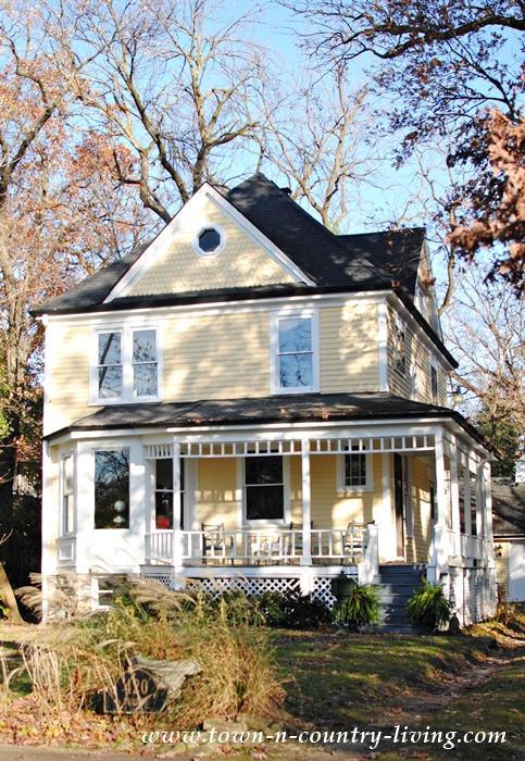 Historic Yellow Victorian Home