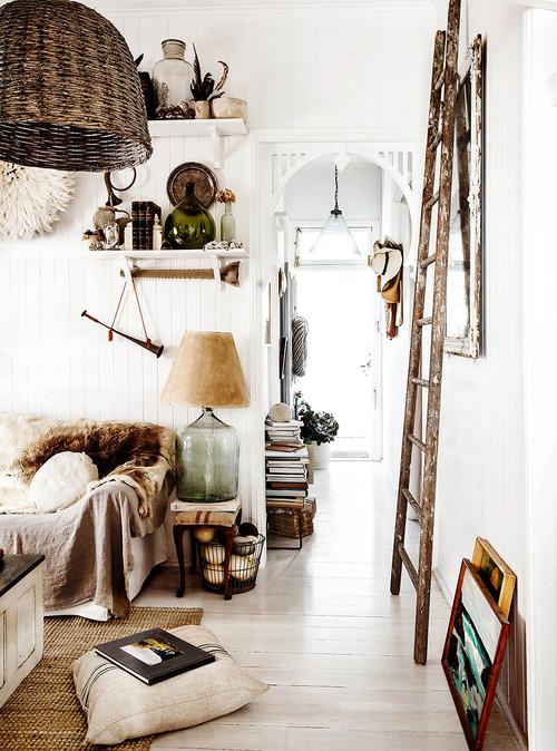 Neutral Living Room in Australian House