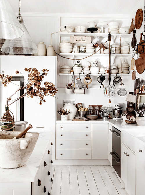 Shabby Chic Kitchen in Australia
