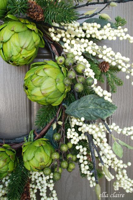 Winter Wreath by Ella Claire
