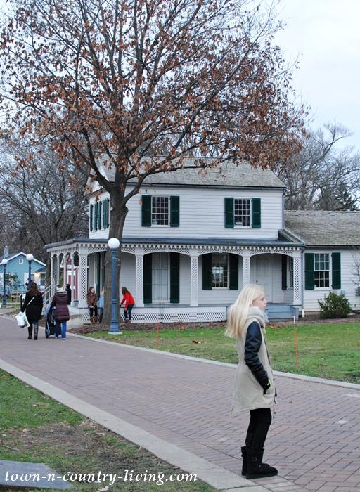 Alexander Hamilton Howard Home in Naperville, Illinois