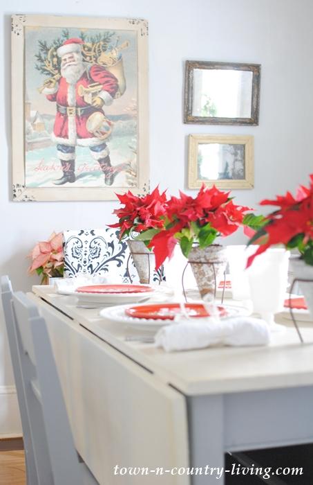 Christmas Brunch Table Setting