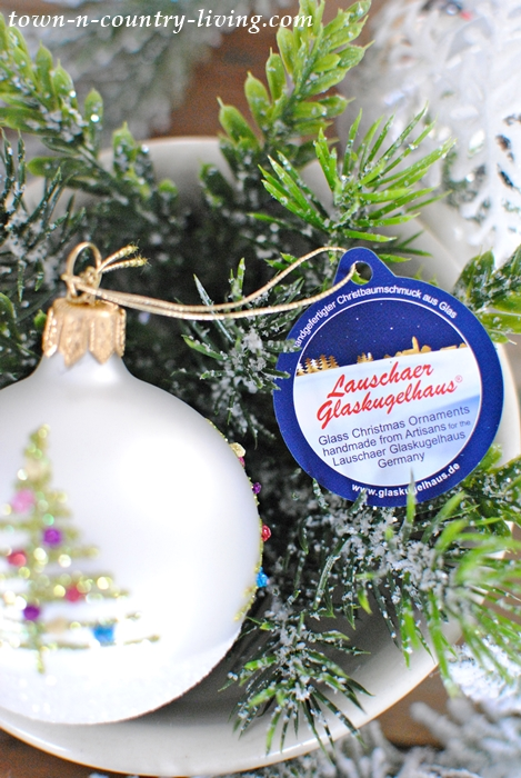 Christmas Tree Ornament from Germany