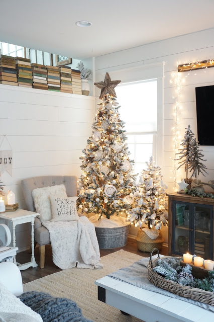 Farmhouse Style Christmas Trees