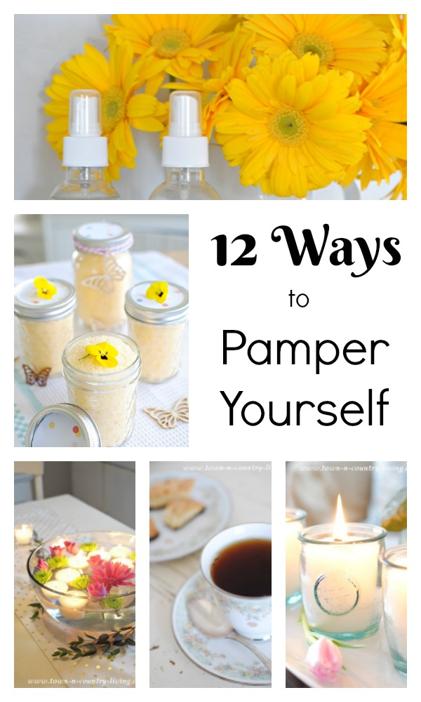 12 Ways to Pamper Yourself