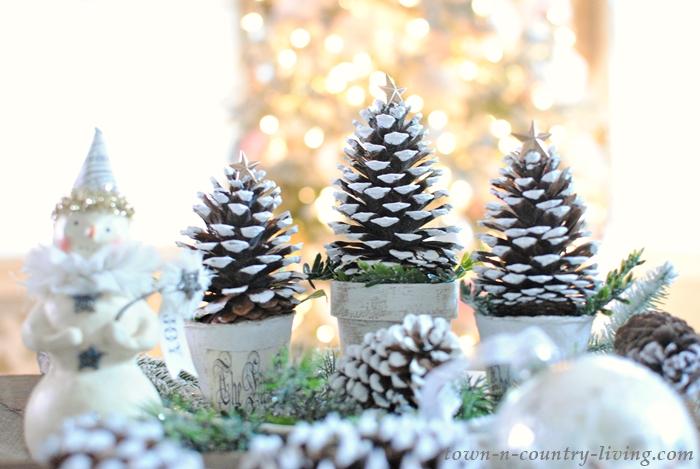 Pinecone Christmas Tree Craft