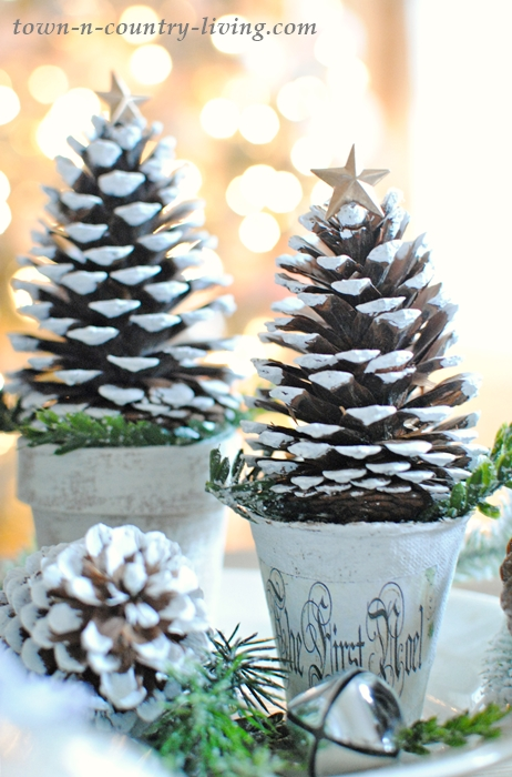 Pine cone christmas trees town country living for Pine cone christmas tree craft