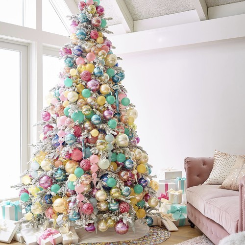pastel christmas tree - Pastel Christmas Decorations
