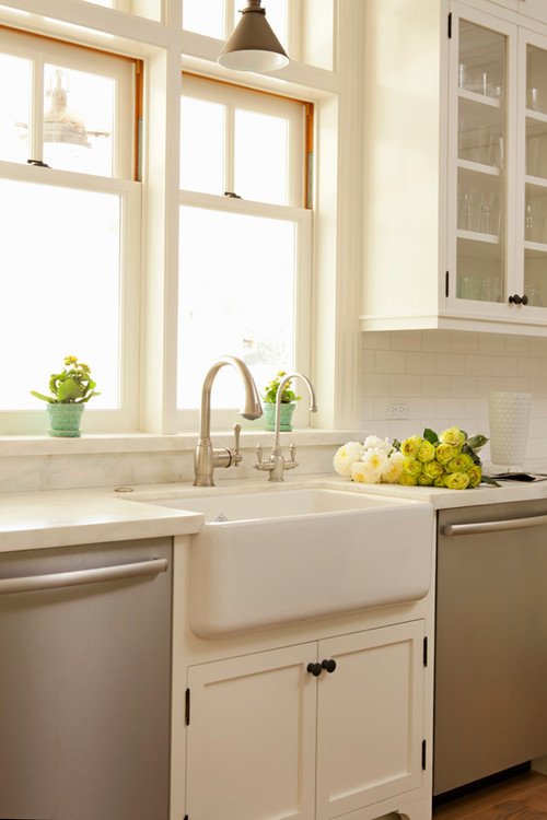 Farmhouse Style Kitchen in LEED Gold Home
