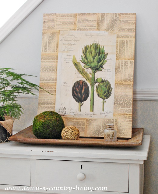 Artichoke Botanic Print
