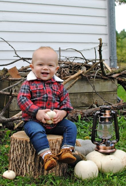 Photo Shoot for Lumberjack Party