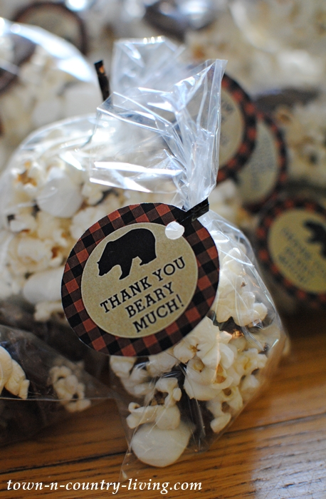 Lumberjack Party Favors