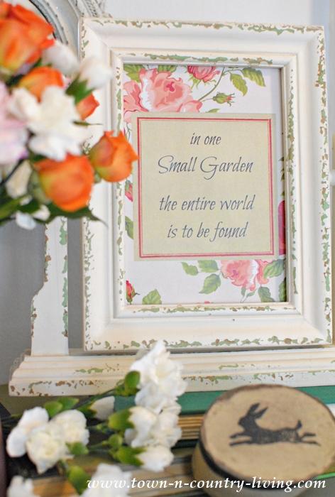 Free Spring Garden Printable