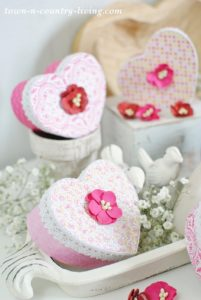 Valentine Heart Boxes: How to Make