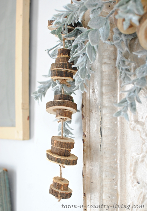 Wood Slice Garland. Make Your Own in Less than an Hour.
