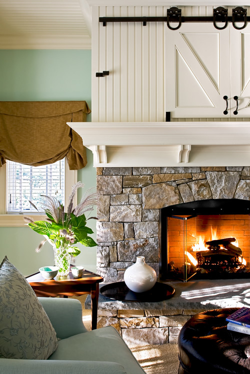 Master Bedroom Fireplace. Yes, Please!