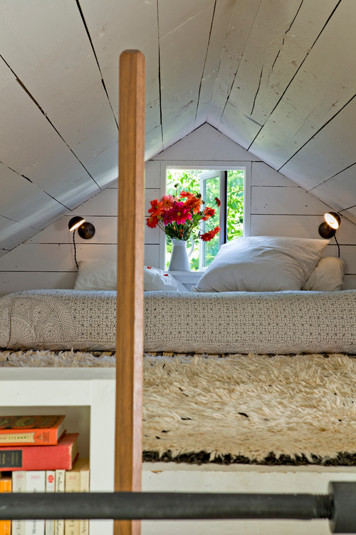 Loft Bedroom in a Tiny House