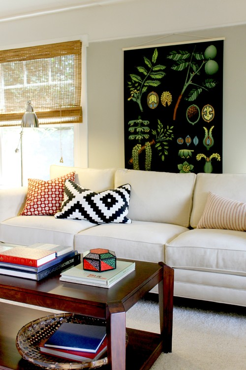 Over-Sized Botanic Chart by Madison Modern Home