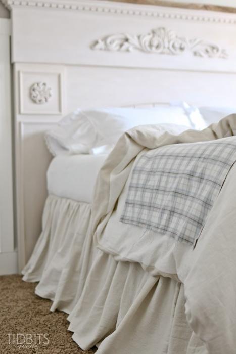 Soft Ruffles and Bedding at Tidbits