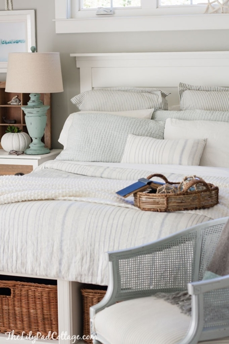 cozy comfy bedding that s oh so pretty town country living rh town n country living com English Cottage Bedding Simply Shabby Chic Bedding