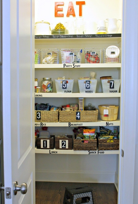 Home Organization Ideas. Organizing the Pantry with Our Fifth House