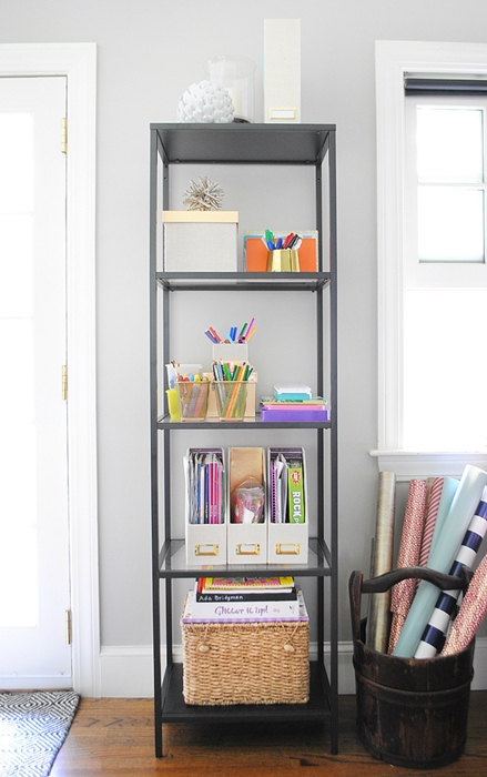 How to organize kids' craft supplies by Chronicles of Home