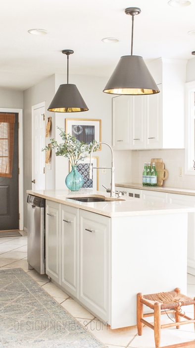 DIY Kitchen Pendant Lighting by Designing Vibes