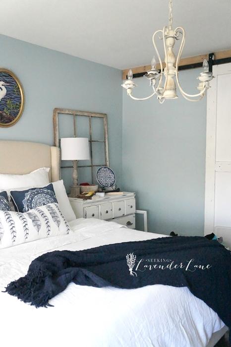 Blue Bedding at Lavender Lane