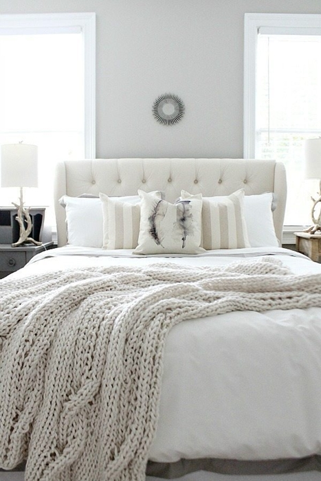 Inspirational Cream Colored Guest Room