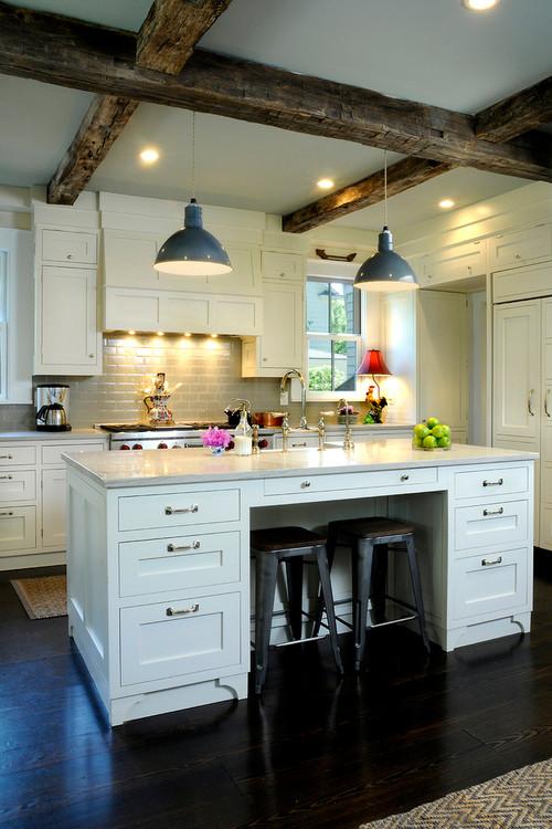 Cool Farmhouse Kitchen Island