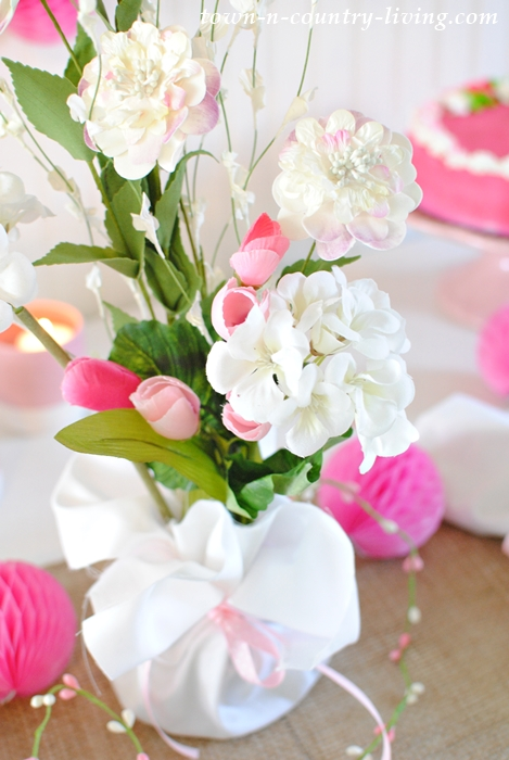 Make Your Own Floral Centerpiece