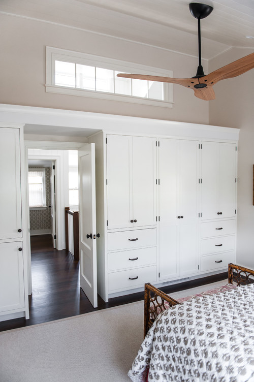 Custom Cabinetry in Bedroom