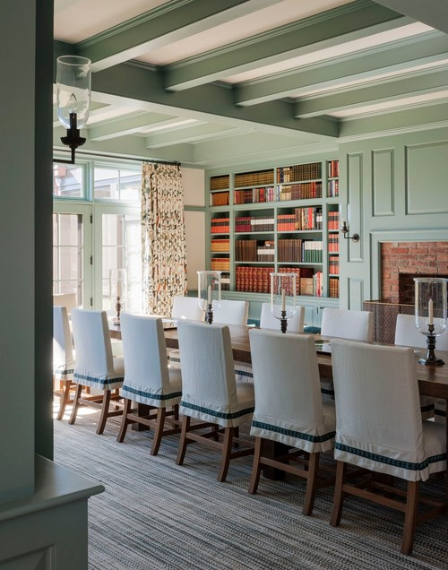 Large Farmhouse Dining Room