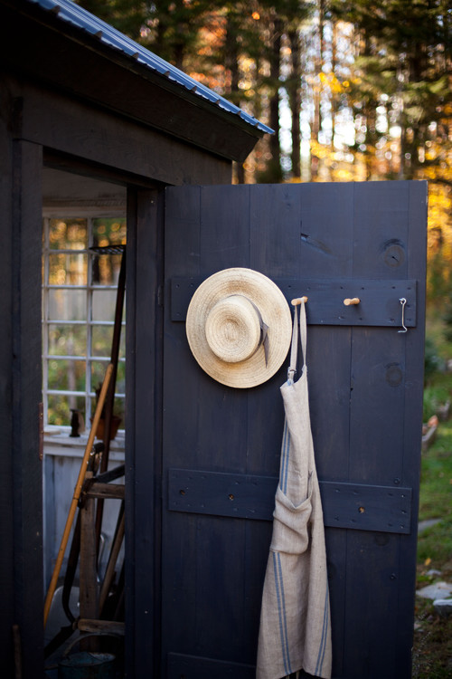 Charming Shed Door