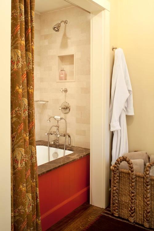 Farmhouse Style Bathroom in Colorado Retreat